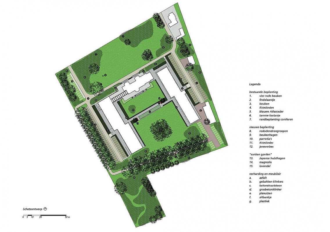 De lange akker berkel enschot quadrat - Weergaven tuin lange ...