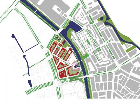 Merwede kanaalzone Utrecht
